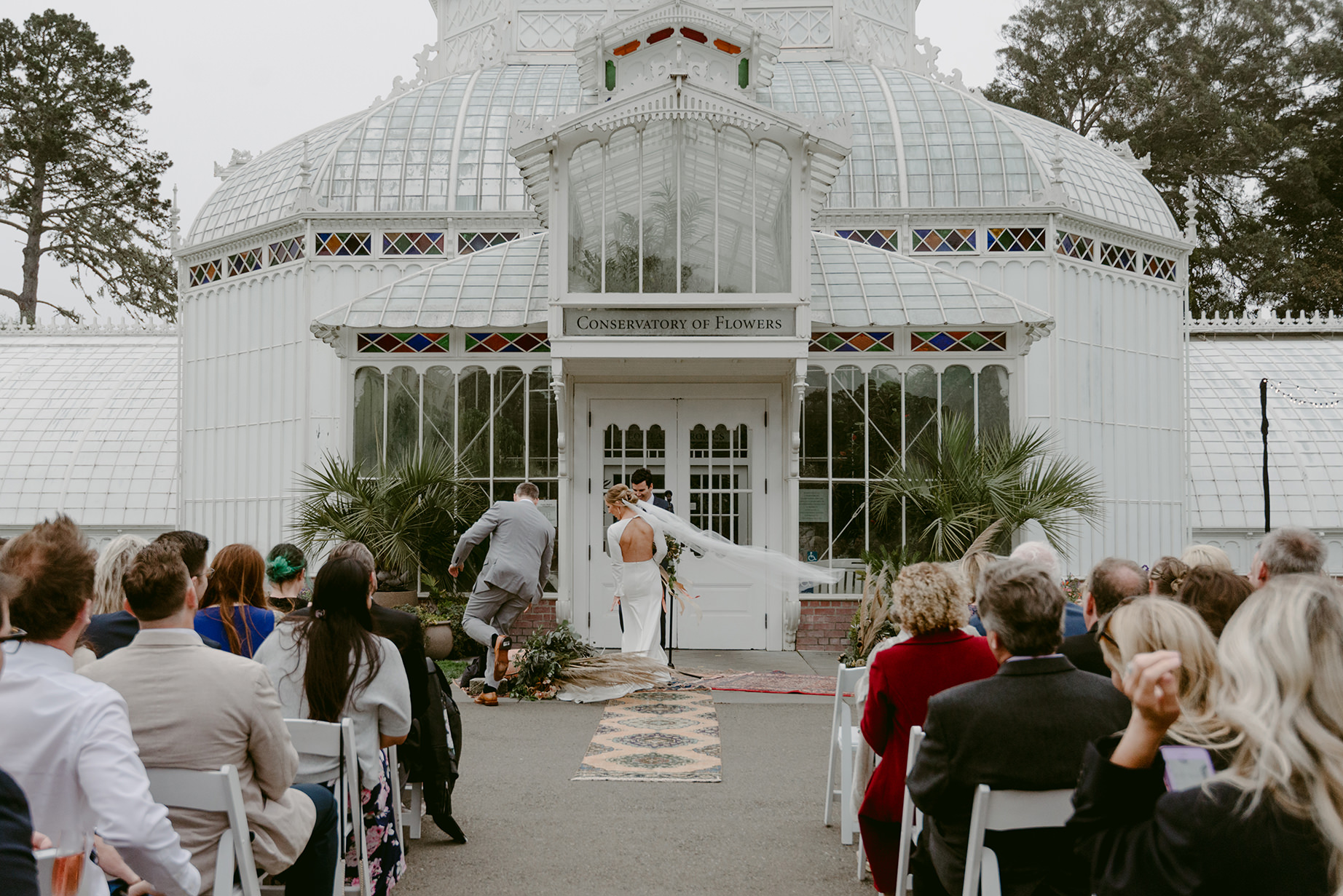 K+K // A Wedding at the San Francisco Conservatory of